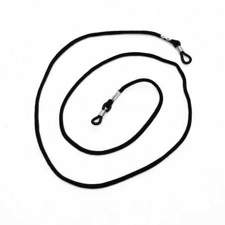 Šnúrka na okuliare čierna