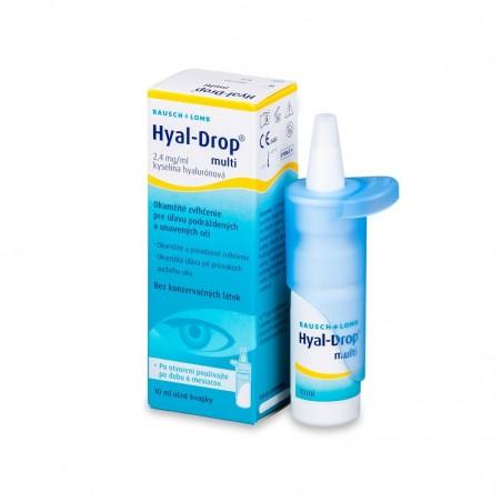 Hyal-Drop Multi očné kvapky s kyselinou hyalurónovou 10ml