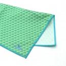 Ultra jemná utierka Duggert 25x25cm 8825-07 - zelený vzor 2