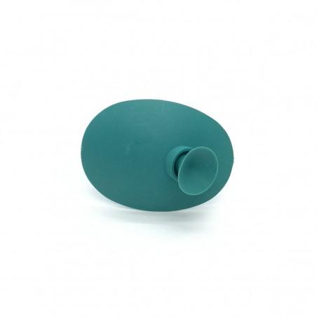 Okluzor silikónový s prísavkou - zelený