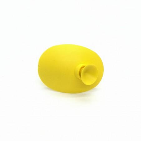 Okluzor silikónový s prísavkou - žltý