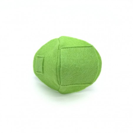 Okluzor textilný nasúvací - zelený obojstranné