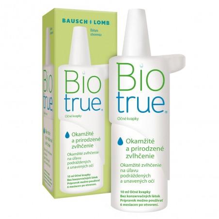 BioTrue očné kvapky s kyselinou hyalurónovou 10ml