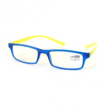 Čítacie okuliare hotové +1.00 až +2.00 dioptrie modro - žlté