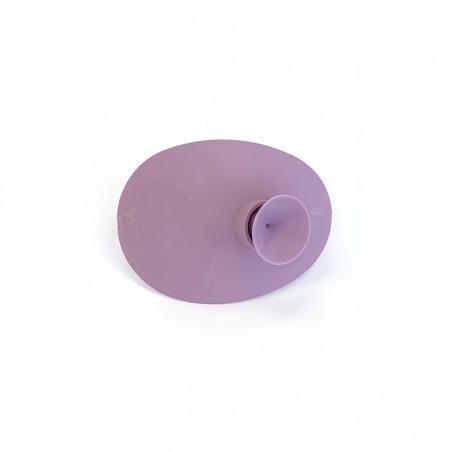 Okluzor silikónový s prísavkou - fialový