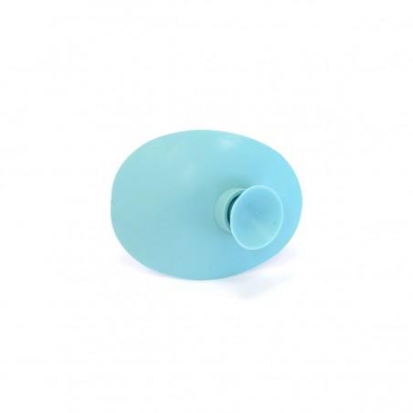 Okluzor silikónový s prísavkou - bledo modrý