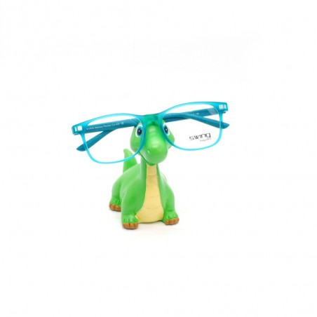 Držiak na okuliare Dino zelený