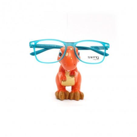 Držiak na okuliare Dino oranžový