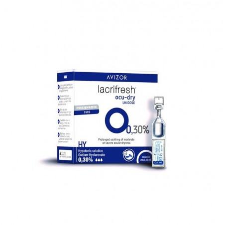 Lacrifresh Drops OCUDRY 20x0,4 ml. očné kvapky - 30% kyselina hyaluronová