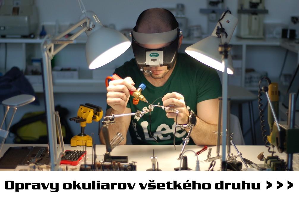 Opravy okuliarov všetkého druhu
